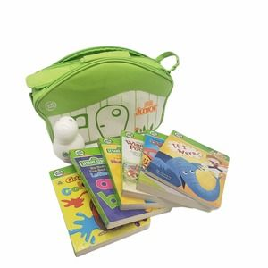 LeapFrog Tag Junior 5 Learning Books and Case